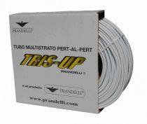 PRANDELLI  PR.40640420 PE-RT 20x2 mm (0.2alu) ötrétegű cső 200 m/tekercs