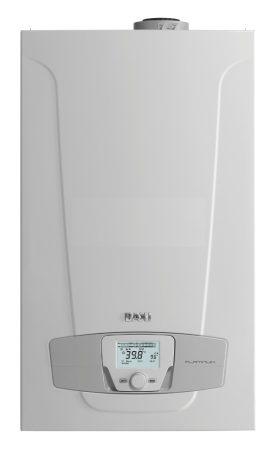 Baxi Nuvola Platinum 33 +ERP kondenzációs fali gázkazán 45 l-es nemesacél beépít