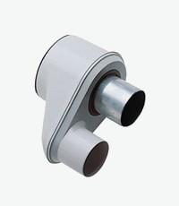 Baxi adapter kivezető 80-80/125  KHG714093810