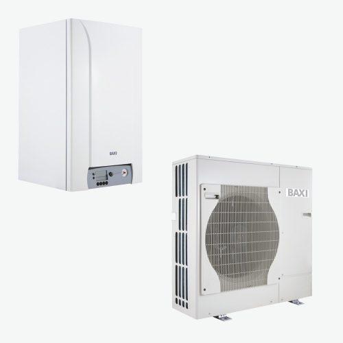 BAXI PBS-i 8 MR E WH2 levegő-víz hőszivattyú, kieg.fütés - elektromos, 230V, 8kW