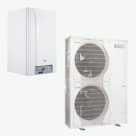 BAXI PBS-i 16 TR H WH2 levegő-víz hőszivattyú kiegészítő fütés - kazán 400V 16kW