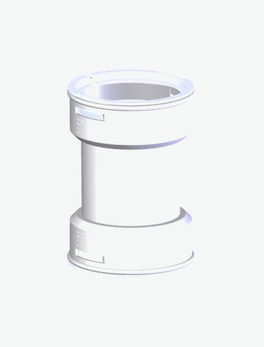 Tricox kupplungidom 60 mm-es flexibilis rendszerhez  FKU10