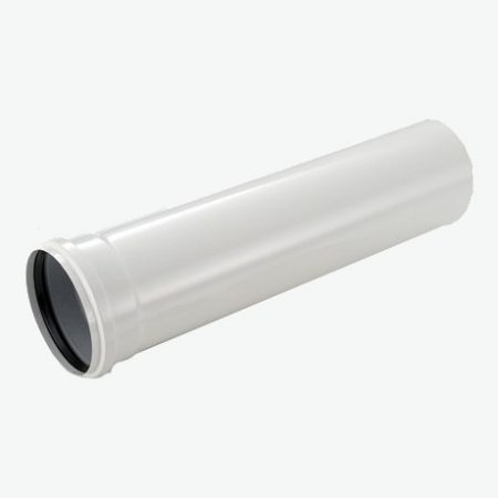 Tricox PPs cső 60 mm hossz 500 mm  PCS106
