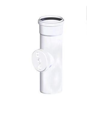 Tricox PPs ellenőrző egyenes idom 110 mm  PEE80