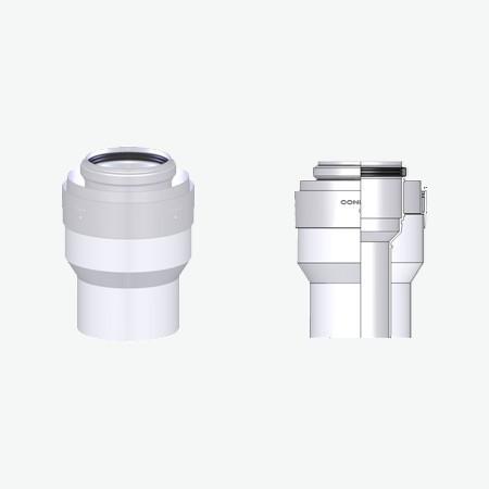Tricox PPs/alu bővítő 60/100 mm-80/125 mm  PBÖ5060