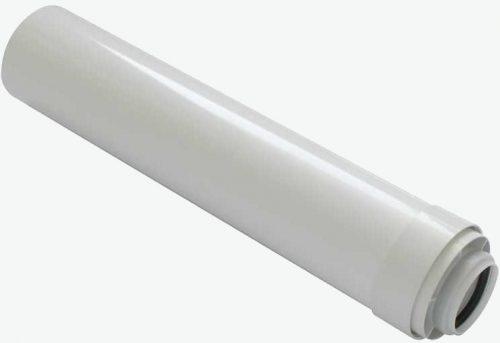 Tricox PPs/alu cső 60/100 mm hossz 500 mm  PACS506C