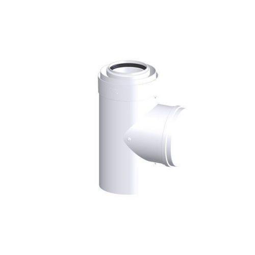 Tricox PPs/alu ellenőrző egyenes idom 80/125 mm  PAEE60C