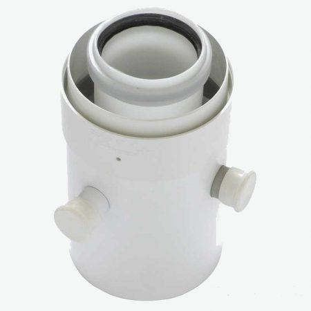 Tricox PPs/alu mérőpont 80/125 mm  PAMP60C