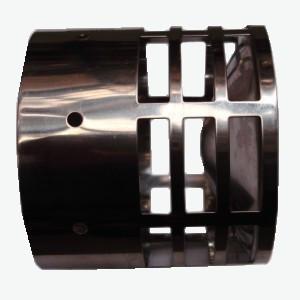 Tricox rozsdamentes végelem csövekhez 80 mm  RVE20