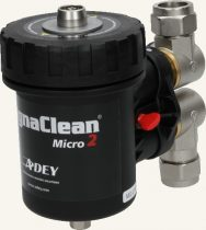 Adey MagnaClean Micro 2 kombinált mágneses/finomszűrő, 22 mm
