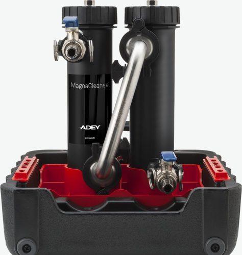Adey MagnaCleanse fűtési rendszertisztító berendezés, radiátortisztítóval