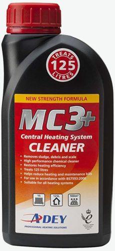 Adey MC3+ tisztító folyadék 125 l vízhez, 500 ml