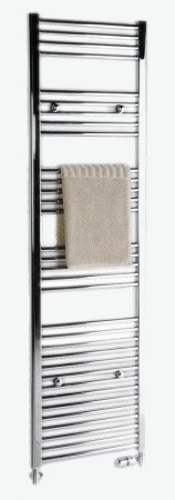SAPHO ALYA CSŐRADIÁTOR 600X1760 KRóM   1120-12 egyenes krómozott radiátor