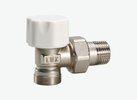 LUXOR 1/2˝*(24x19 menet) RS212 rad.szelep (előremenő) sarok termoszt 11-12122100