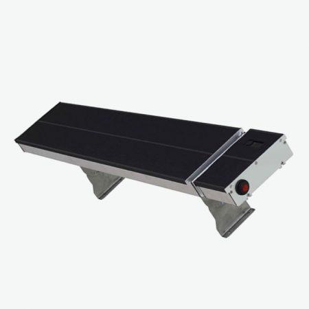 BVF R-10 infra sötétsugárzó- 1300W/2600W