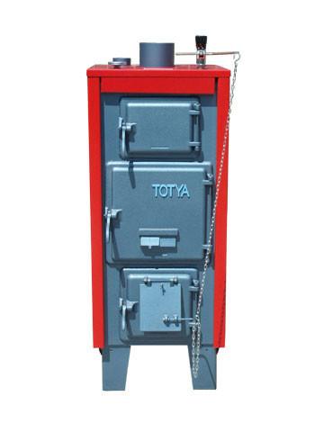 Totya kazán VR 28 kw B +hőmérő + szigetelés+ autómata hsz. vízrostélyos (Kazi)