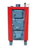 Totya kazán VR 33 kw +hőmérő + szigetelés+ autómata hsz. vízrostélyos (Kazi)
