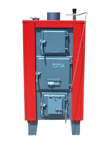 Totya kazán VR 33 kw B +hőmérő + szigetelés+ autómata hsz. vízrostélyos (Kazi)