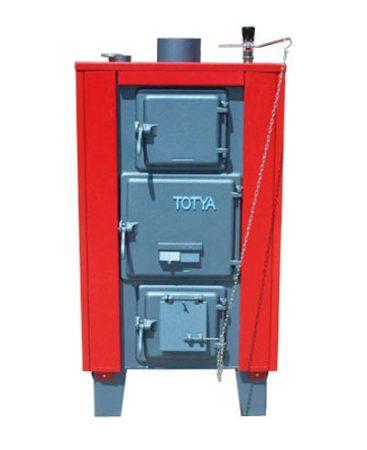Totya kazán VR 43 kw B +hőmérő + szigetelés+ autómata hsz. vízrostélyos (Kazi)
