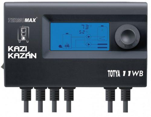 K. Totya ventillátoros kazán vezérlő egységcsomag (11WB) (Kazi)