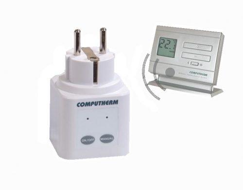 COMPUTHERM Q1RX dugalj + Q5RF (TX) termosztát (párban)